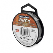 Wildfire Wire Beadalon 0.20mm Grey