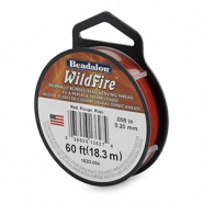 Wildfire Wire Beadalon 0.20mm Red