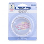 German Style Wire Beadalon 16Gauge round Silver