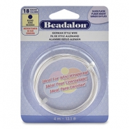German Style Wire Beadalon 18Gauge round Silver