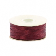 Nymo Wire 0.3mm Beadalon Burgundy Red