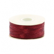 Nymo Wire 0.3mm Beadalon Shoe Red