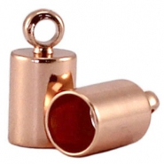 Design Quality Endkappen 4mm DQ Rose Gold plated