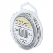 Artistic Wire 18 Gauge Stainless steel