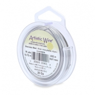 Artistic Wire 20 Gauge Stainless steel