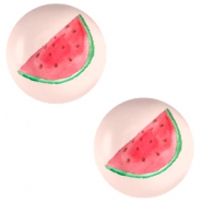 Cabochons Basic 20mm Watermelon-light coral peach