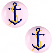 Cabochons Basic 20mm Anchor-pink