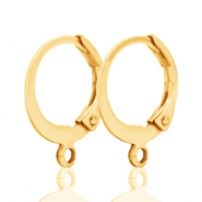 Ohrringe Design Quality 12mm gold plated