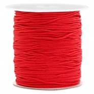 Band Macramé 1.0mm Scarlet red