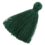 Basic Quaste Perlen 3cm Dark green
