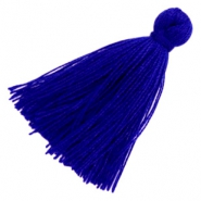 Basic Quaste Perlen 3cm Royal blue