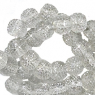 Sparkle beads 8mm Grey opal