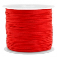 Band Macramé 0.8mm Candy red