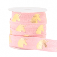 Band elastisch Unicorn Light pink
