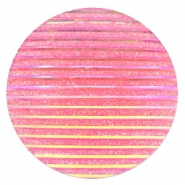 Cabochons Basic 35mm Stripe Pink holographic