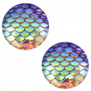 Cabochons Basic 20mm Mermaid Champagne holographic