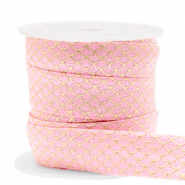 Band Elastisch Mermaid Vintage pink-gold