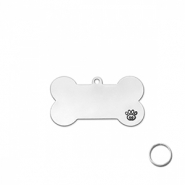 ImpressArt Metall Rohlinge Pet Tag DIY kit Silber
