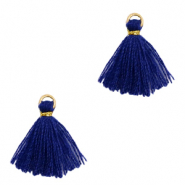 Quaste Perlen 1.5cm Gold-dark blue