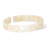 Armband Resin loose fit Cream beige