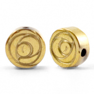 Perlen aus Hematite Rose 6mm Gold