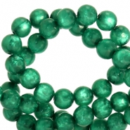 Polaris Perle 6mm rund pearl shine Agate green