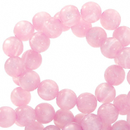 Polaris Perle 6mm rund pearl shine Quarzo pink