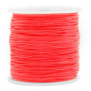 Band Macramé 0.8mm Living coral red