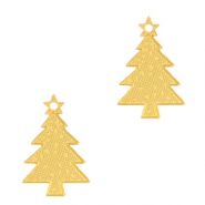 Anhänger Bohemian Christmas Tree Gold