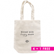 Combi deal 3 | Fashion Tasche Canvas 4 + 1 Gratis