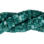 Perlen Katsuki 4mm Dark teal green