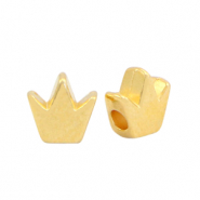 Perlen Metall DQ Crown Gold (Nickelfrei)