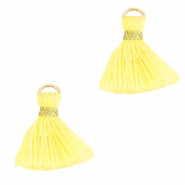 Quaste Perlen 1.5cm Gold-sunshine yellow