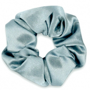 Haargummi seidig Allure blue grey