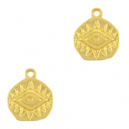 Anhänger Metall DQ Eye of Providence Gold (Nickelfrei)