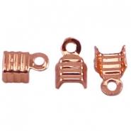 DQ Lintklemmen 4mm rosegold plated