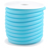 Gummi DQ Band 5mm hell blau