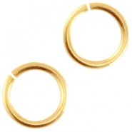 Metall DQ  Bindering 4.5mm Gold (nickelfrei)
