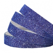 Tape aus Crystal Glitzer 5mm Indigo blue