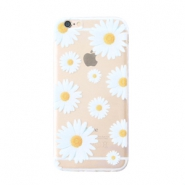 Telefonhüllen für iPhone 6 Daisies Transparent-white yellow