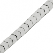 Perlen hematite Arrow Matt Light grey
