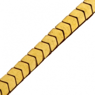 Perlen hematite Arrow Gold