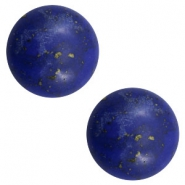 Cabochons Basic Stone Look 12mm Blue-gold