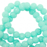 Sparkle beads 8mm Turquoise