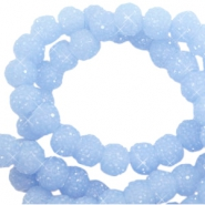 Sparkle beads 8mm Fresh blue