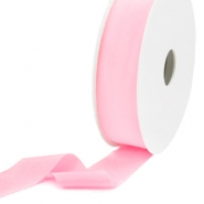 Ibiza Band elastisch 25mm Light rose