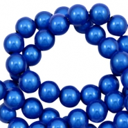3D Miracle Perlen 4mm Cobalt blue