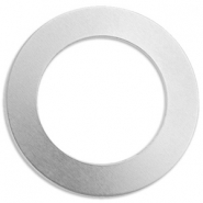 ImpressArt Stempel Aluminium Labels Ring 38mm Silber