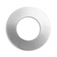 ImpressArt Stempel Aluminium Labels Ring 25mm Silber