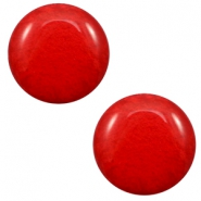 20 mm classic Super Polaris Cabochon Mosso shiny Candy red